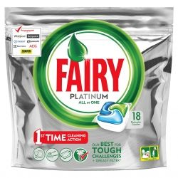 Fairy dishwash caps Platinum 18 pcs ПЛИК