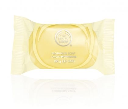 Moringa soap The Body Shop - сапун Моринга 100g