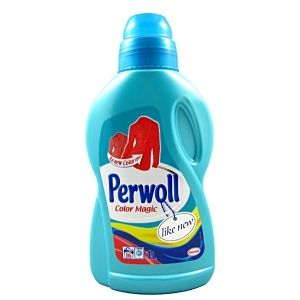 Perwoll liquid 1 L СИН - BRILIANT COLOR