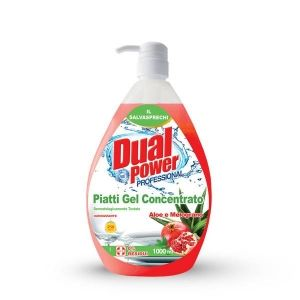 Dual Power dish wash 1л. с помпа Aloe (веро)