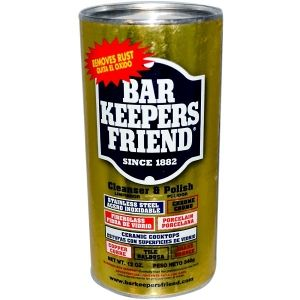 Bar Keepers Friend абсолютен елиминатор на ръжда