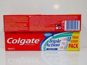 Colgate Tripple action toothpaste 100 ml